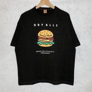 Human Made Burger print short sleeve